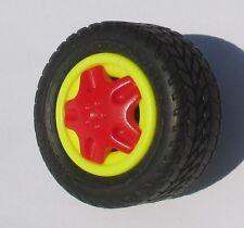 Playmobil Racing REIFEN + HALTER  Rückzugsmotor Strand Buggy 4184 Rad Felge