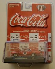 M2 MACHINES COCA COLA 1970 FORD MUSTANG BOSS 302 1/9,600 RC02 18-55 BRAND NEW