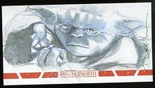 2015 Star Wars Revenge of the Sith 3D Widevision Sketch - DANNY HAAS