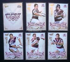 2008 NRL MANLY SEA EAGLES SELECT CENTENARY OF RUGBY LEAGUE TEAM SET 6 Cards