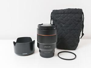 Samyang 50mm F1.4 FE AF Lens for Sony E-Mount ~Close to New