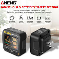 AC11 Smart Digital Voltage Socket Tester Test Detector AC110-250V (US Plug) Tool