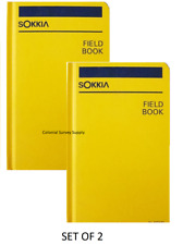 New Sokkia  Field Book 815260 (Set of 2)