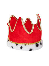 Royal Soft Crown Adults Fancy Dress King & Queen Mens Ladies Nativity Accessory