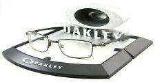 Oakley Bottle Rocket 4.0 RX Eye Glasses Pewter Metal Frames ONLY Sunglasses