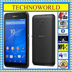 "UNLOCKED SONY XPERIA E4G E2053◉4GX◉4.7"" ANDROID◉WIFI HOTSPOT◉1GB/8GB◉BLUETOOTH"