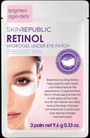 Skin Republic Retinol Hydrogel Under Eye Patches x 3 Pairs Brighten Age Defy
