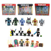 Roblox Game 7 Sets Action Figure Champion Robot Mermaid Building Blocks Toy Gift
