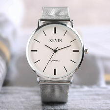 KEVIN Elegant Stainless Steel Strap Women Business Quartz Wrist Watch Bracelet