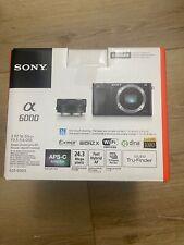 Sony Alpha α6000 24.3MP Digital SLR Camera - Black Kit with E PZ 16-50mm
