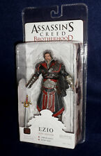 "Assassin's Creed Brotherhood EZIO Ebony Unhooded 7"" Action Figure NECA PS3 XBOX"