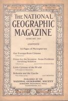 National Geographic Magazine February 1917 Our Foreign-Born Citizen 030617nonDBE