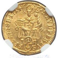 Austria Gold 1/4 Ducat Prince-Archbishob of Salzburg Franz Anton 1714 NGC MS64