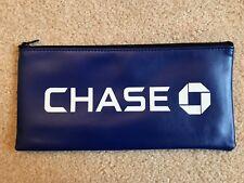 Chase Bank Deposit Bag (Money Bag) With Zipper **Brand New**