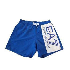 EA7 Emporio Armani 7 - Boxer Mare Uomo Costume Blu Logo