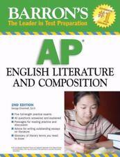 Barron's AP English Literature and Composition 2008, Ehrenhaft Ed.D., George, Go