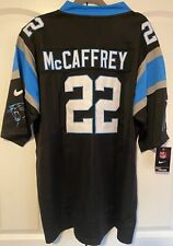 Christian McCaffrey Carolina Panthers Men's Black Jersey Sizes S-3Xl