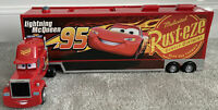 Disney Pixar Cars Large Mack Truck Lorry Carry Case With Handle