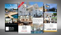 Real Estate Marketing Design Starter Kit: Full   70+ Adobe InDesign Templates
