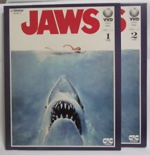 JAWS : Steven Spielberg - Japanese original VHD VIDEO DISC