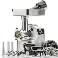"STX Magnum 1800 ""Platinum"" Heavy Duty Electric Meat Grinder & Sausage Stuffer"