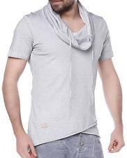 Redbridge figurbetonte unifarbene Herren-T-Shirts keine Mehrstückpackung