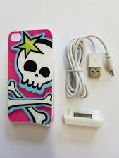 Skull Apple iPhone 4 Interactive Lighted Color LED Case Cover 4S Light Cases