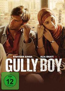 GULLY BOY GULLYBOY Bollywood DVD mit Ranveer Singh & Alia Bhatt Erscheint  24.9.