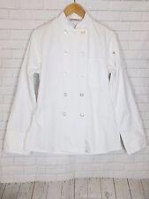 Uncommon Threads Chef Uniform Coat Long Sleeve Button Down White Unisex Size Xs
