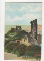The Castle Hastings Sussex Vintage Postcard 652a