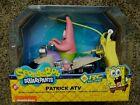 * RARE * SpongeBob  PATRICK STAR Toy ATV Remote Controlled NKOK NEW NIP Car Bike