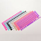 Colourful Silicone Keyboard Skin Cover Case for Macbook Air Pro 13