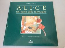 VINTAGE# alice paese meraviglie franco panini edizioni#NUOVO LEWIS CARROL