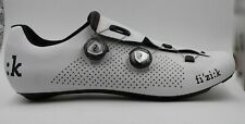 BNIB Fizik R1 UOMO BOA Road Cycling Shoes White/White Size 48 EU - 13 3/4 US