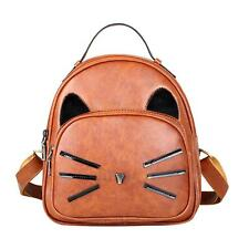 Women Shoulder Backpack Leather Rucksack Preppy Schoolbag Travel Handbag Satchel