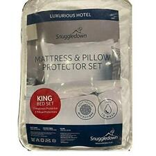 Costco Snuggledown Luxurious Hotel Mattress and Pillow Protector Set for King