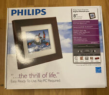 New Philips 8-Inch Digital PhotoFrame Easy. Ready To Use. No PC Required