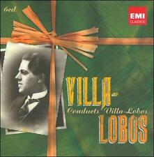 Villa-Lobos Conducts Villa-Lobos (CD, May-2011, 6 Discs, EMI Classics)
