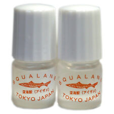 Squalane Oil 3 ml Sample Vials 100% Natural Anti Aging and Anti Wrinkle Cosmetic