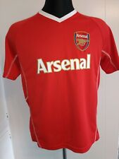 Arsenal Soccer Jersey Red Size Small