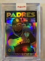 Topps Project 70 Card 61 - 1986 Fernando Tatis Jr. by Keith Shore FOIL 68/70