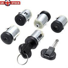 5x Barrel Door Lock & 2 Keys For Peugeot Expert 806 Citroen Synergie Dispatch