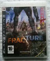Jeu vidéo Playstation 3  FRACTURE - FPS version Française intégrale + notice
