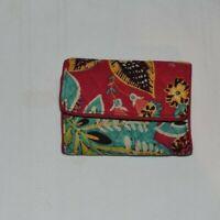Vera Bradley RFID Trifold Wallet In Retired Rumba Pattern