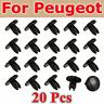 20x Garde-boue Trim Clips Agrafes Fixation Pour Peugeot 207 307 206 SW CC 856553
