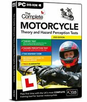 MOTORCYVLE Theory and Hazard Perception Tests 2020/21 + THEORY WOOKBOOK