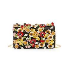 Jardim Nova Prada Saffiano Designer Com Aplique Floral tiracolo saco 1BP006 F0002