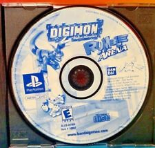 DIGIMON DIGITAL MONSTERS RUMBLE ARENA - Sony PlayStation 1 ps1 Rare Tested