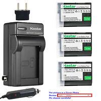 Kastar Battery Travel Charger for Nikon EN-EL15 MH-25 Nikon D7500 DSLR Camera