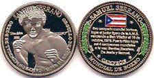 SAMUEL SERRANO TOA ALTA Campeon Boxeo PUERTO RICO World Boxing Champion Medal #1